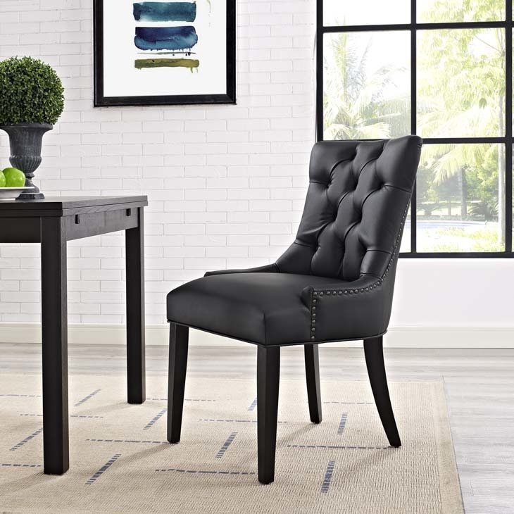 Regal Dining Side Chair | Black