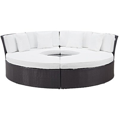 Hinsdale Patio Circular Sectional Daybed