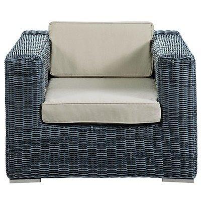 North Avenue Patio Armchair with Sunbrella® Cushion