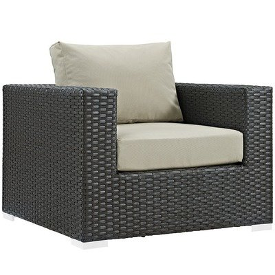 Soho Patio Arm Chair with Sunbrella® Cushion