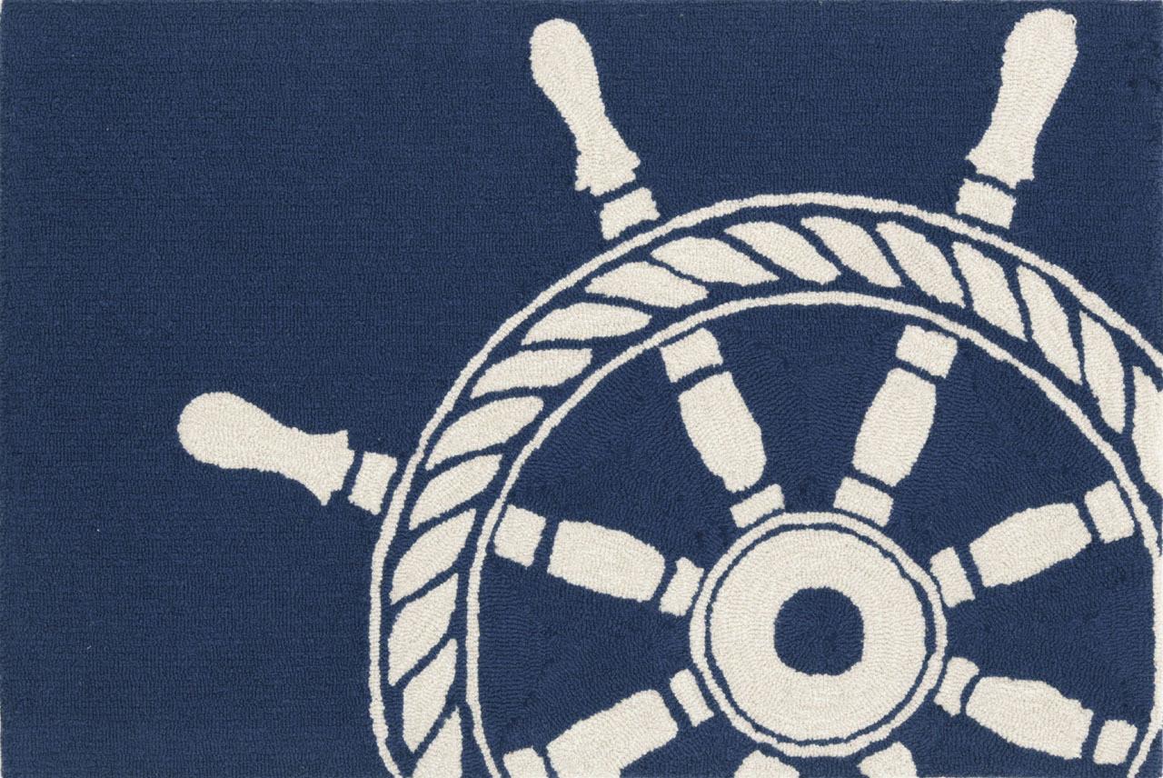 Ship Wheel Navy