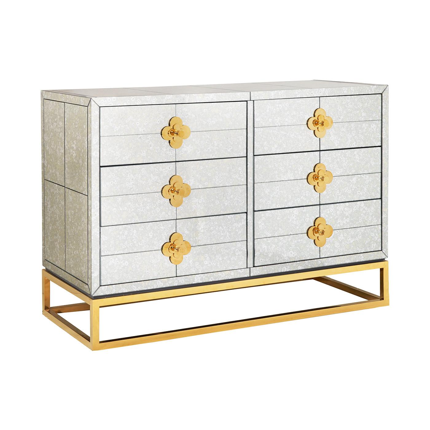 Delphine Six Drawer Dresser