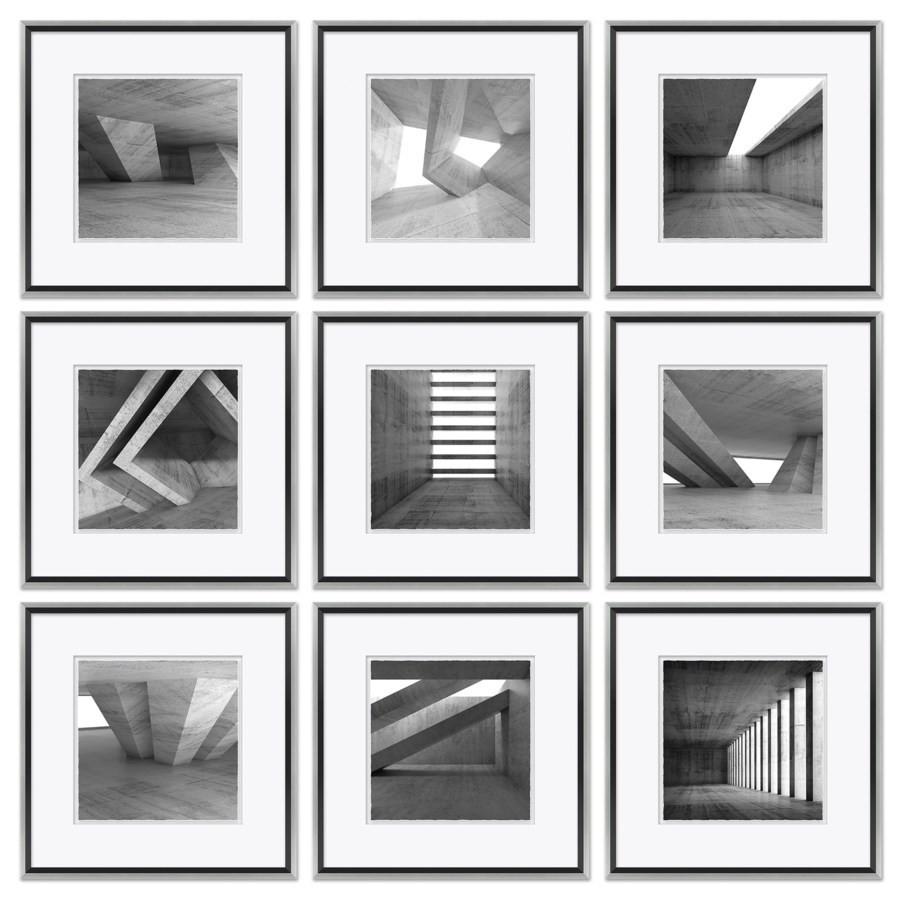 Black & White Architectural's - Shapes