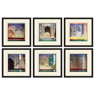 Solarized Buildings Set of 6