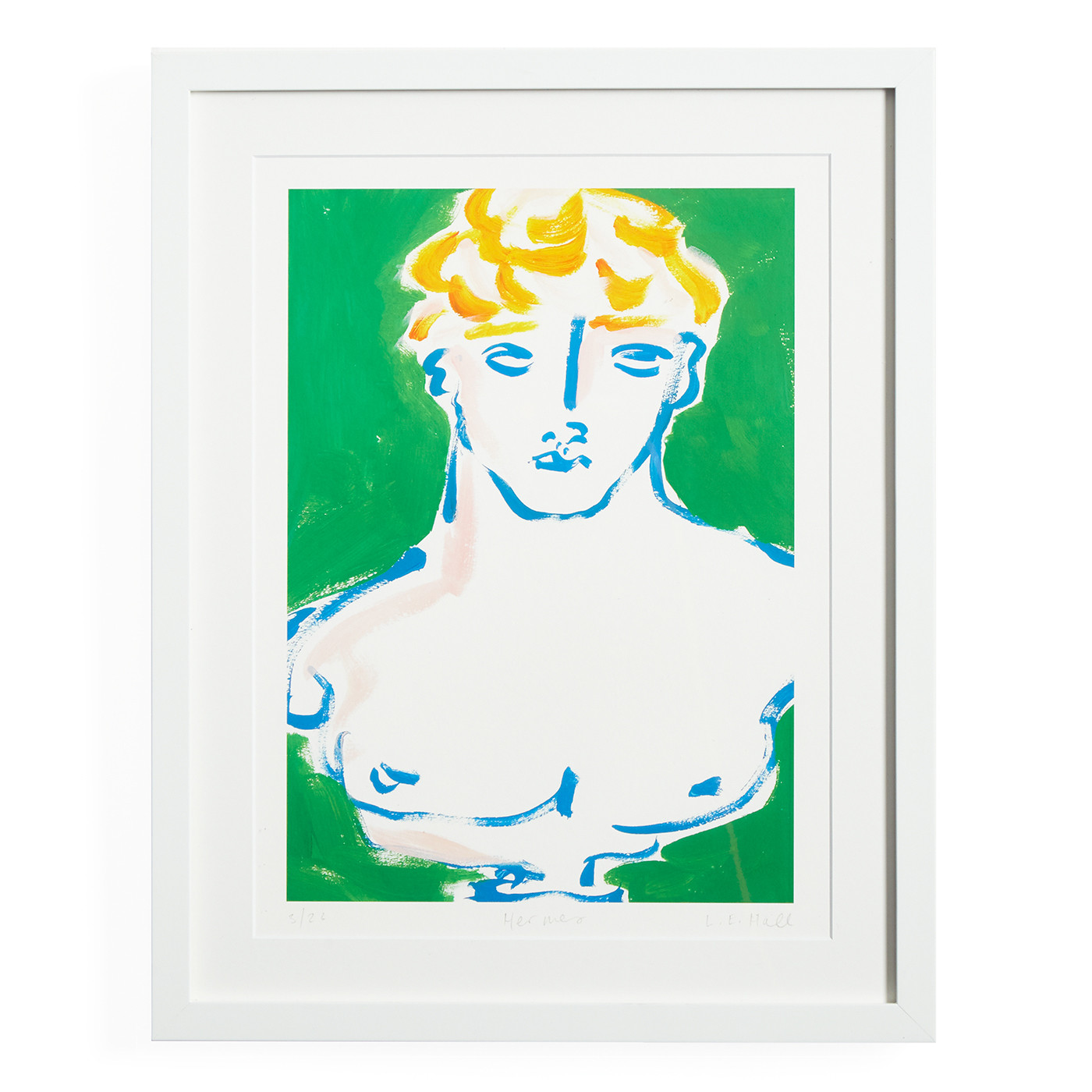 "Luke Edward Hall ""Hermes"" Print"
