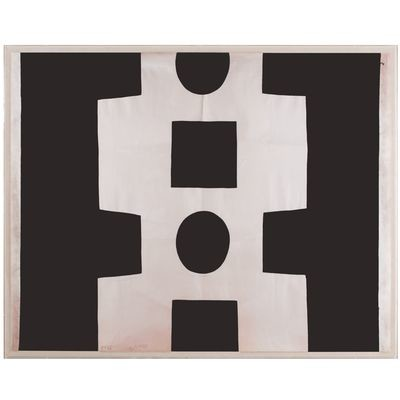 Paul Marrot Black and White Abstract