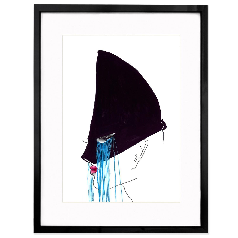 "Tony Viramontes ""Jean Paul Gaultier Headdress"""