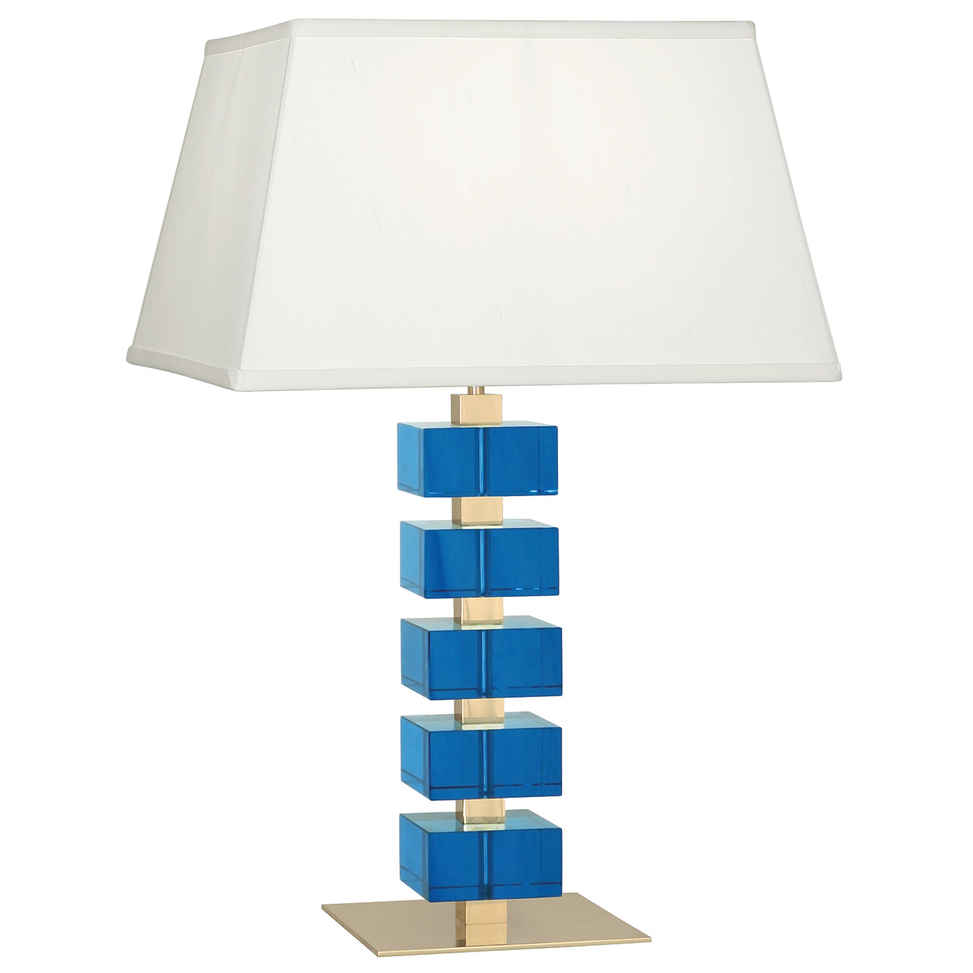 Monaco Crystal Table Lamp | Turquoise