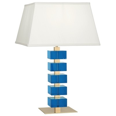 Monaco Crystal Table Lamp | Turquoise