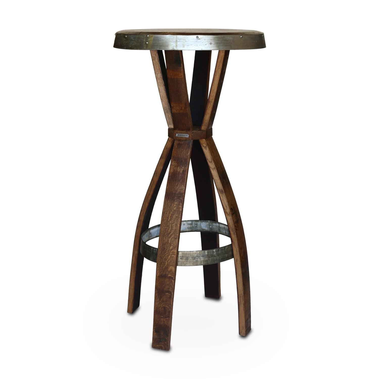 Barrel Stave Pub Table