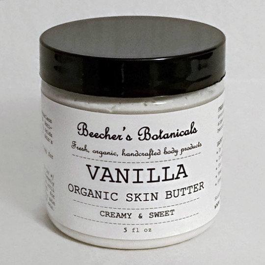 VANILLA Skin Butter   Benzoin Resin