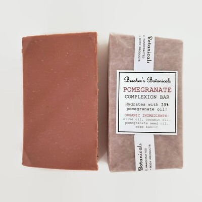 POMEGRANATE SOAP BAR | gentle, all skin types