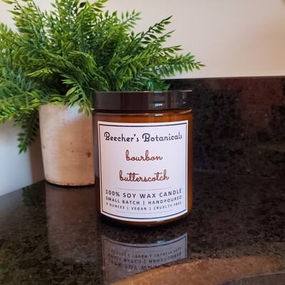 Bourbon Butterscotch Soy Candle
