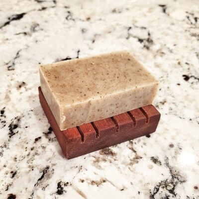 Wooden Soap Holder, Compact