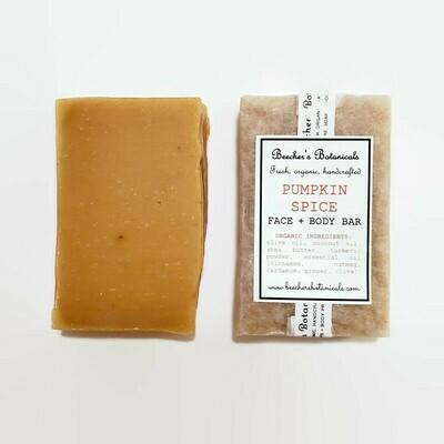 PUMPKIN SPICE Soap, Face + Body Bar
