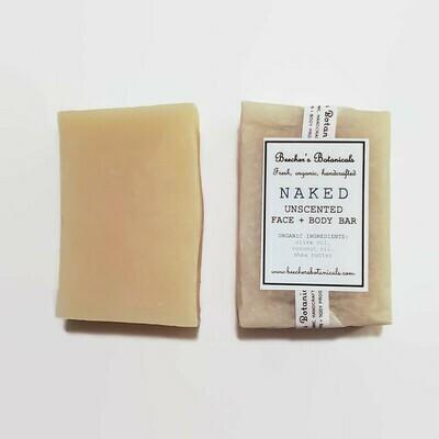 NAKED SOAP BAR | unscented