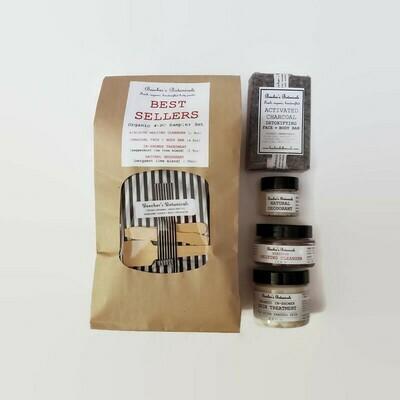 BEST SELLERS! Organic 4-pc Try Me Kit