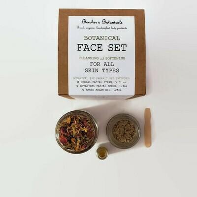 BOTANICAL 3-pc Spa Face Set [texture, scars, dullness]