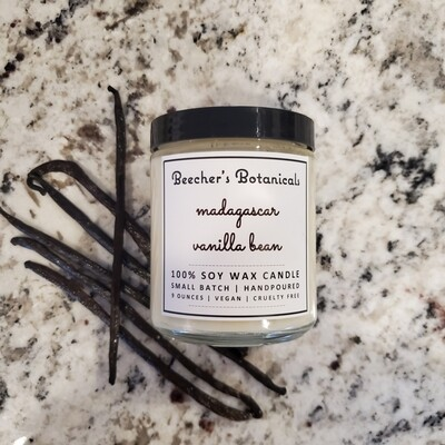 Madagascar Vanilla Bean Soy Candle