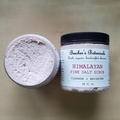 HIMALAYAN SALT SCRUB | Cleanse + Brighten
