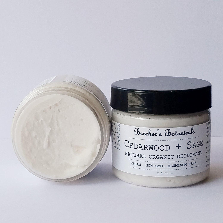 CEDAR SAGE Natural Deodorant Cream