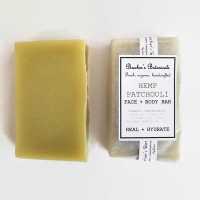 HEMP PATCHOULI SOAP BAR | hydrate
