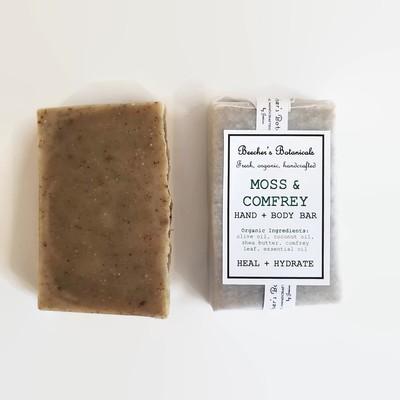 MOSS Soap, Healing Face + Body Bar