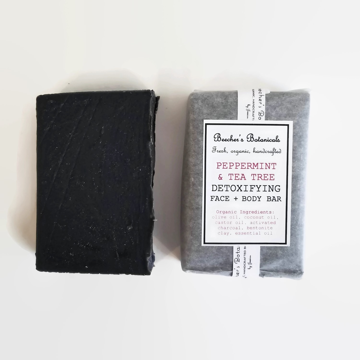 CHARCOAL SOAP BAR | acne, oily skin