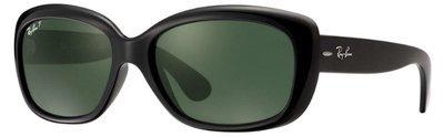 Ray Ban Jackie Ohh Polarized Black Green Polarized