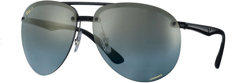 Chromance 4293 Grey Black Blue Gradient Mirror Polarized