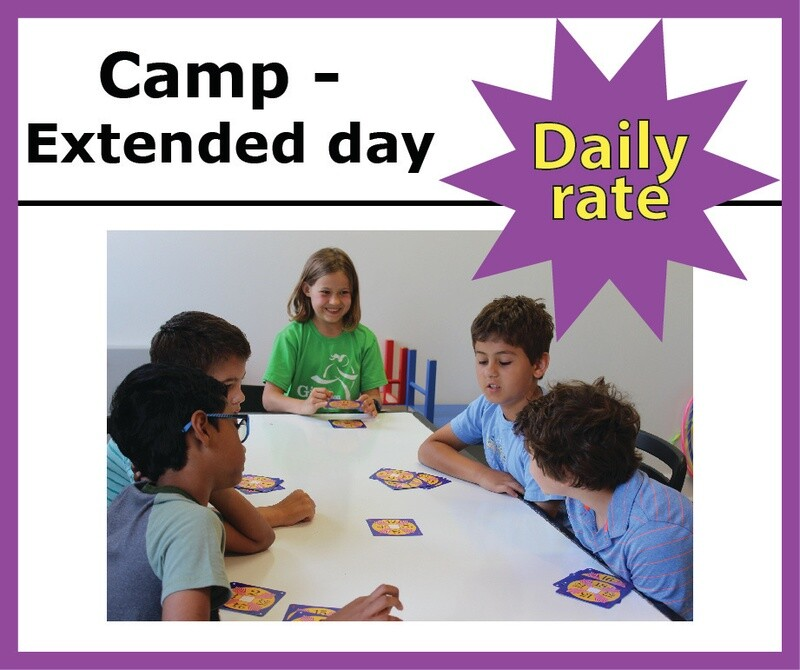 Camp Extended Day - DAILY RATE -  4:30-6pm