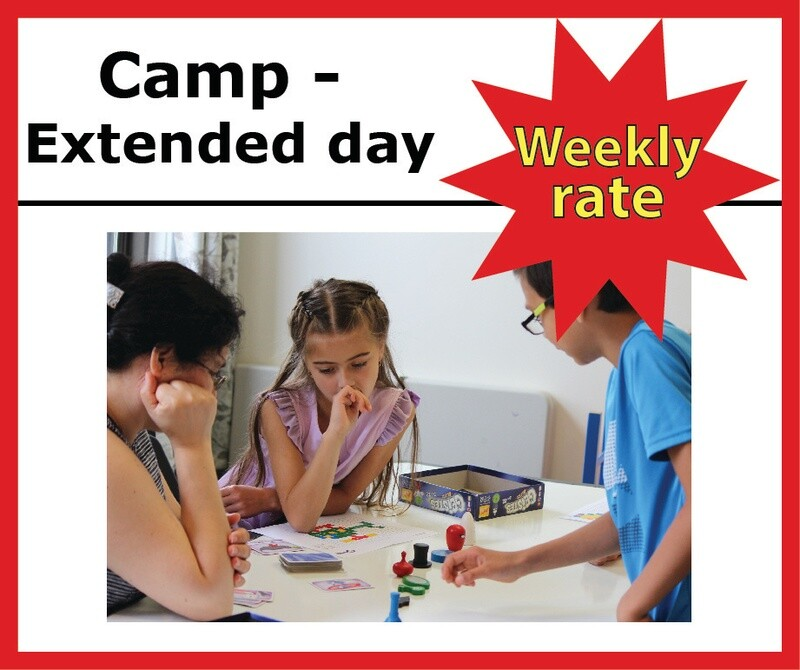 Camp Extended Day - WEEKLY RATE -  4:30-6pm