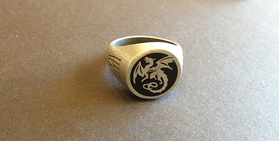 Dragon Ring Size 10