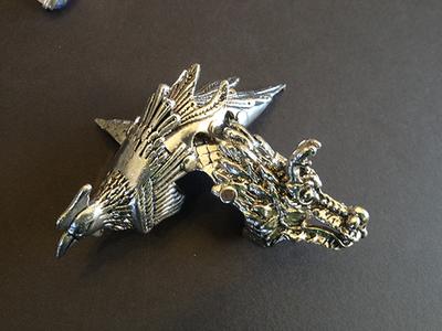 Dragon and Phoenix Armor Rings -Set