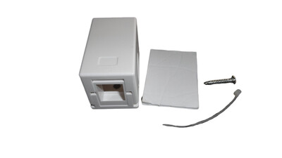 1 Port Surface Mount Box as low as $.57 each -Super Fast Load