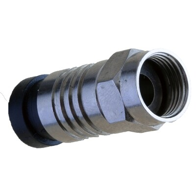 10 Pack  Coax RG6 Compression Connector