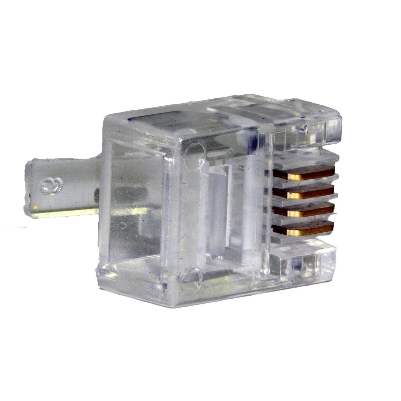 100 pcs. - Cat3 Modular Plugs