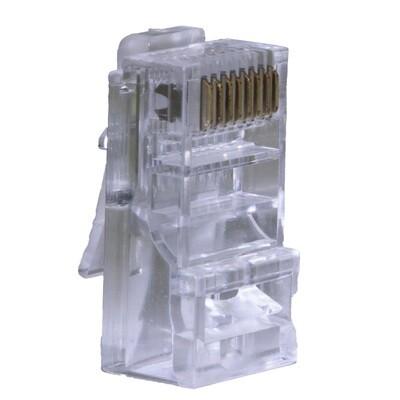 100 pcs. - Cat5e Modular Plugs