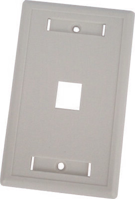 Keystone Flushmount Faceplates with Windows as Low as $.40 ea.
