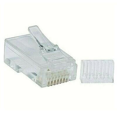 100 pcs. - Cat6 Modular Plugs with Load Bar