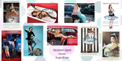 Pin Up Posters Benefit: Single Poster