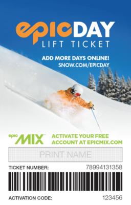 Vail / Beaver Creek Adult (ages 13-64) Lift Tickets, Peak Season