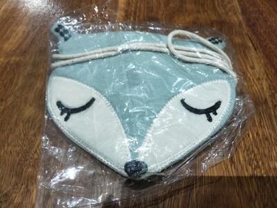 Green fox pouch