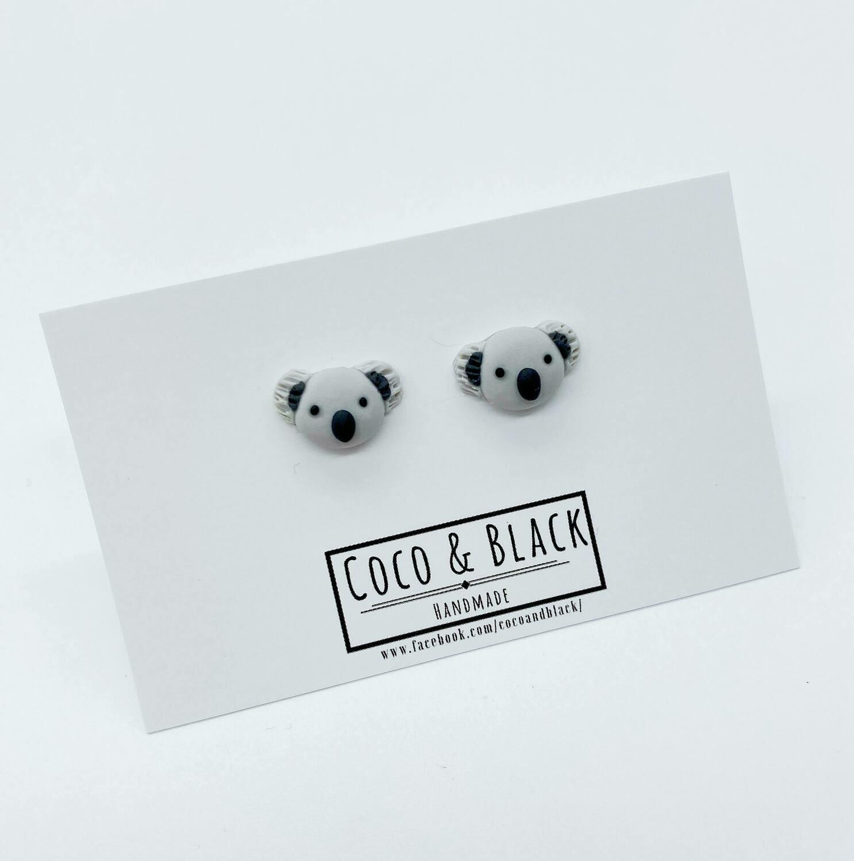 Coco & Black - Koala Earrings