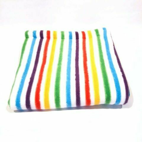 Mon Sews - Bamboo Cage Liners -  Rainbow Stripes