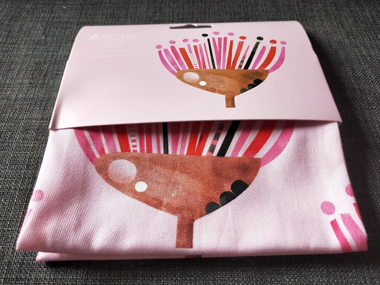 MoSuKi Bunny Shop  - Peter Cromer Tea towel  - Pink flowers