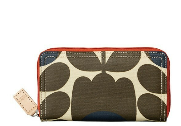 Orla Kiely big zip wallets - donated by Cookie Moo