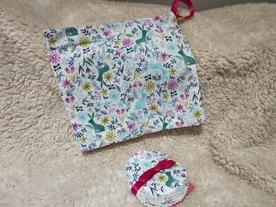 Blossom & Blaze - Wash bag & Make up pads 5