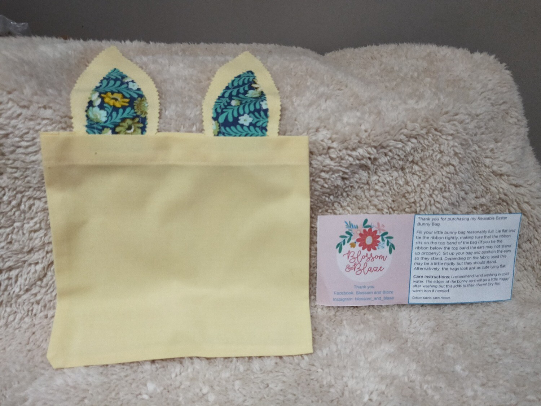 Blossom & Blaze - Bunny Easter Bag 1