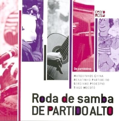 Partideiros - Roda de Samba de Partido Alto - CD